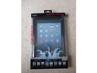iPega Ultra-Slim Waterproof Case for iPad mini Black - brand new