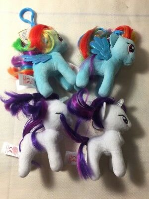 my little Pony white Rarity blue rainbow dash new