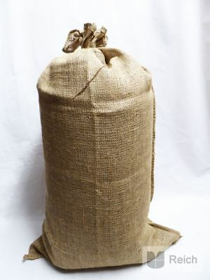 10 Jute Bags Sacks Potato Sack Bag Jute Jute Sack 60 x 105 Cm