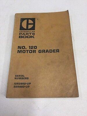 Caterpillar No.120 Motor Grader Parts Book