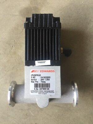 Edwards Vacuum Valve Ipv25pkao C41623000 24v 1.25a