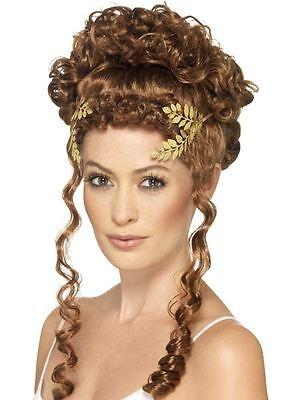 Laurel Blatt Kopfbedeckung, Römische/Griechische, Historisch Kostüm, Gold