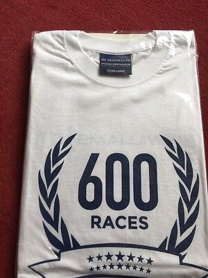 Official Team Issue Williams  F1 600 Race T-shirt Brand New Rare X-Large