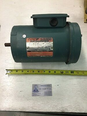 Reliance Electric Ac Motor 14hp 1140rpm Type Cs Single Phase