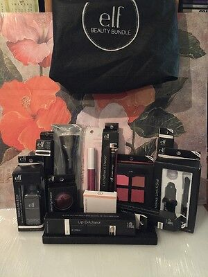 Elf Makeup 12 Piece Beauty Bundle With Carrying Pouch