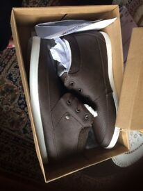 Brand new Brown boots shoes Size 10 with box - Nanny State Brand