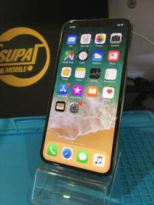 IPHONE X SILVER 256GB WITH WARRANTY AND INVOICE
