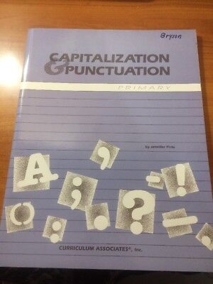 Capitalization and Punctuation Primary...Jennifer Pirie...PB