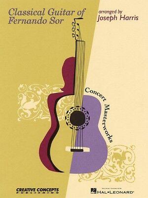 Classical Guitar of Fernando Sor Sheet Music NEW 000315337