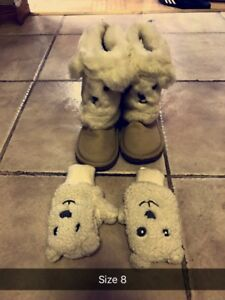 Boots and mittens