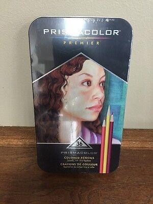 NEW Prismacolor Premier Colored Pencils, Soft Core, 36-Count FREE SHIPPING