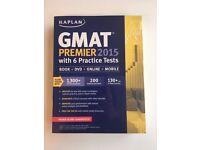 Kaplan GMAT Premier 2015 with 6 Practice Tests: Book + DVD + Online