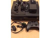 xbox one with controller and mic and 9 games