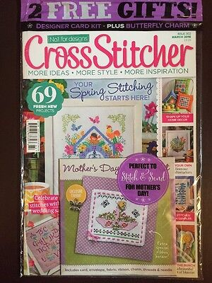 Cross Stitcher Spring Projects Free Mother's Day Kit Mar 2016 FREE SHIPPING JB - Mother's Day Projects