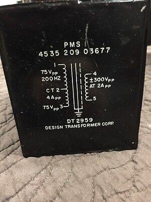 Vintage Freed Pmsi Transformer Dt 2959 200 Hz 75 Vpp At 2app