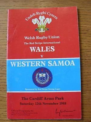 07/04/1984 Rugby Union Programme: Wales v Welsh Rugby Union Presidents XV [At Ca