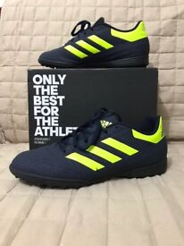 Like new adidas trainers. Worn once. Uk size 8
