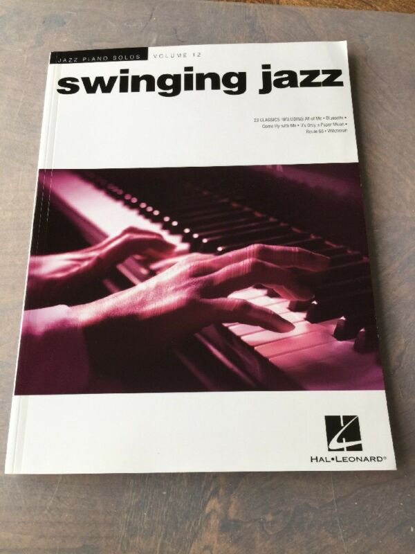 Hal Leonard Jazz Piano Solos Vol 12 Swinging Jazz