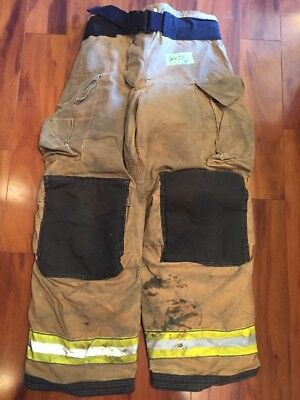 Firefighter Turnout Bunker Pants Globe 36x32 G Extreme Halloween Costume 2010