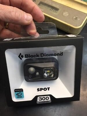 BLACK DIAMOND SPOT 300 LUMEN HEADLAMP BLACK