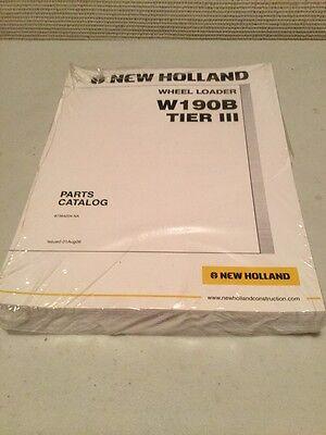 New Holland W190b Tier 3 Wheel Loader Parts Catalog
