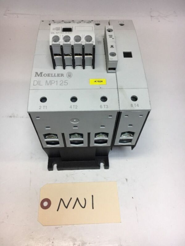 Moeller DIL MP125 Contactor 125A 600V 190-240v coil *Fast Shipping* Warranty!