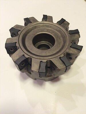 Test Tool Ingersoll Face Mill- Dj5t 40 R01 Edp3029307  10 Inserts Per Loaded