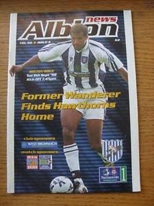 08-09-1998-West-Bromwich-Albion-v-Bolton-Wanderers-Item-has-no-apparent-faults