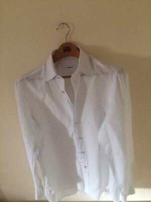 Kiton Shirt For Men Size 17.5