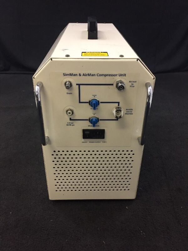 Laerdal Simman & Airman Compressor Unit Dss110 See Listing