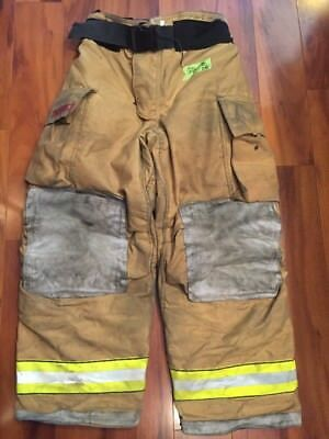 Firefighter Bunker Turnout Gear Pants Globe 38x30 G Extreme Costume 2008