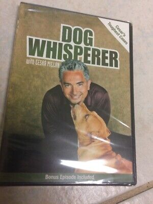 Dog Whisperer with Cesar Millan: Cesars Toughest Cases (DVD, 2007)
