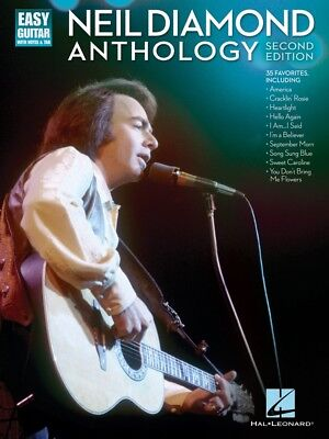 Neil Diamond Anthology Sheet Music Easy Guitar Book NEW 000699690