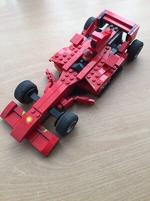 lego Ferrari Car Set Number 8142---Complete As Pictured