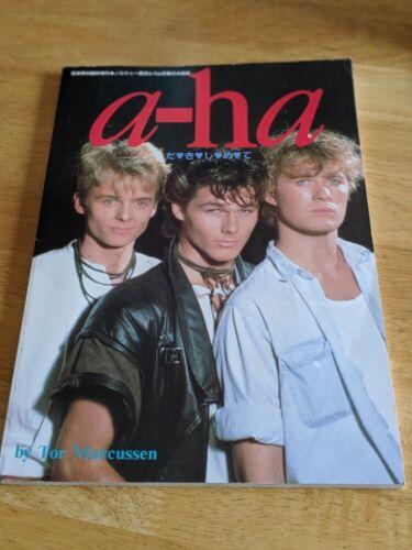 a-ha A-HA DAKISHIMETE(Embrace) JAPAN PHOTO BOOK Tor Marcussen 1986 VERY RARE