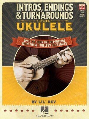Intros Endings & Turnarounds for Ukulele Sheet Music Spice Up Your Uke 000155491