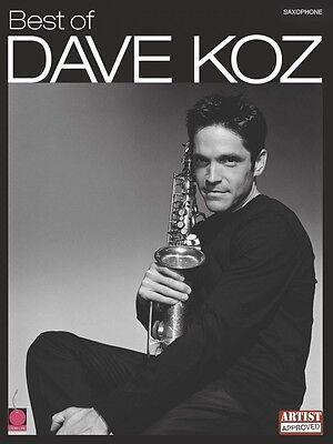 Best of Dave Koz Instrumental Sheet Music Saxophone NEW