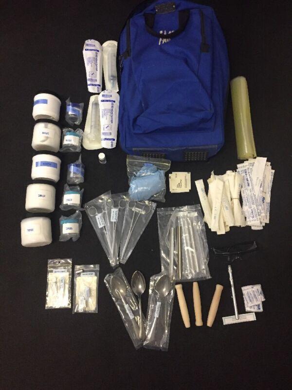 Fac Chem-bio Training Sampling Kit Laboratory Analytics Backpack Qsa 102t