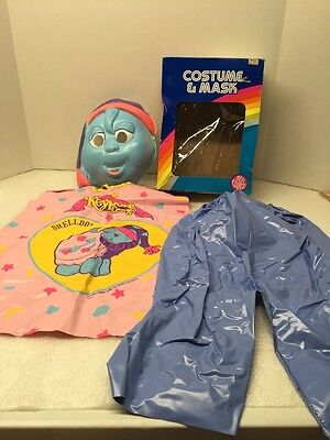 Keypers plastic Vintage Collegeville Ben Cooper Halloween Mask & Costume 1985