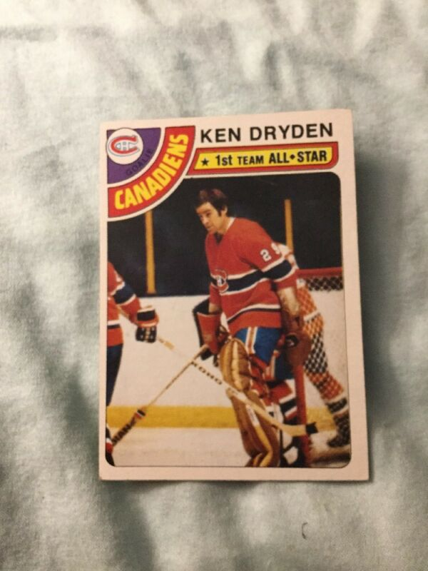 Ken Dryden Hockey Cards