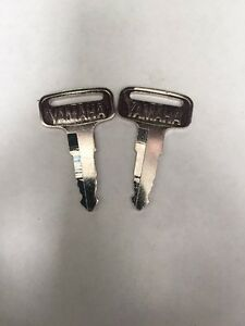 Yamaha golf cart key (set of 2) G1,G2,G8,G9,G11 Gas & Electric New Part OEM Keys