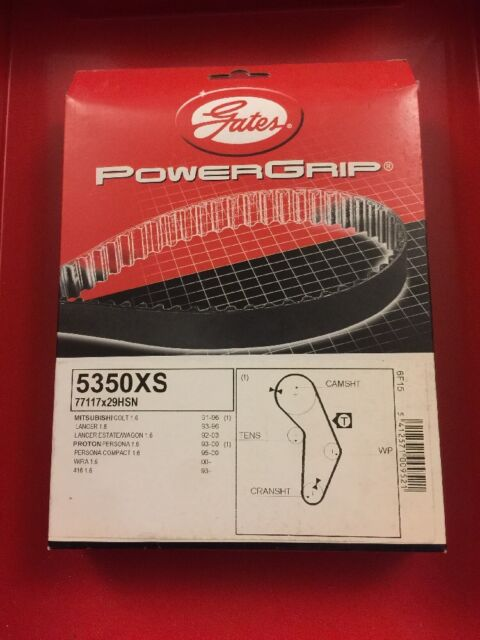 GATES TIMING BELT 5350XS MITSUBISHI LANCER PROTON PERSONA COMPACT
