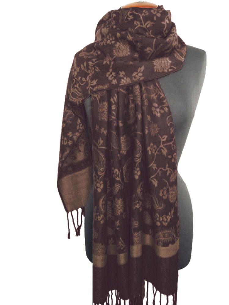 Nella-Mode Edler /& Eleganter Schal Stola; Florales /& Paisley-Muster; viele Farben
