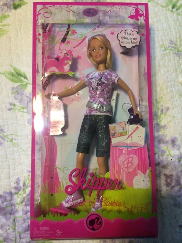 Barbie Camping Family Skipper Doll