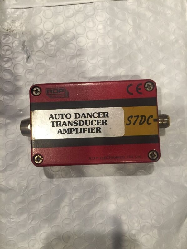RDP ELECTRONICS S7DC AUTO DANCER TRANSDUCER AMPLIFIER USED?