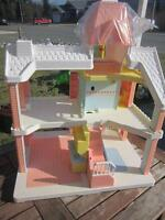 vintage playskool dollhouse
