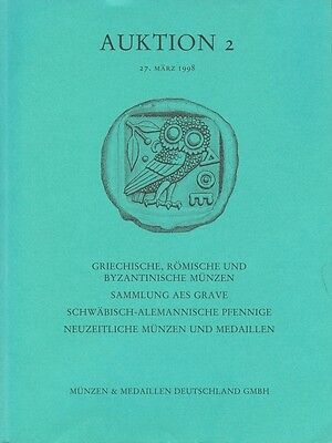 MÜNZEN & MEDAILLEN GMBH AUKTION 2 AUKTIONSKATALOG 27. MÄRZ 1998