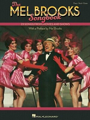 The Mel Brooks Songbook Sheet Music 23 Songs from Movies and Shows PVG 000324128