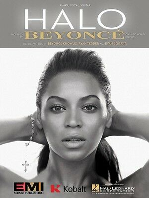 Halo Sheet Music Piano Vocal Beyonce NEW 000353934