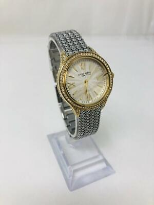 Anne Klein New York 12/2291SVTT silver Tone Watch